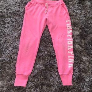 Sweat pants Victoria Secret size S neon pink
